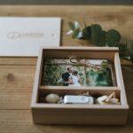 usb wooden box