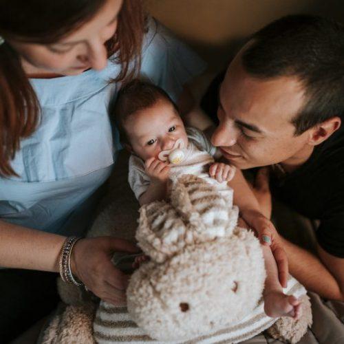 Il servizio fotografico lifestyle newborn di Camilla