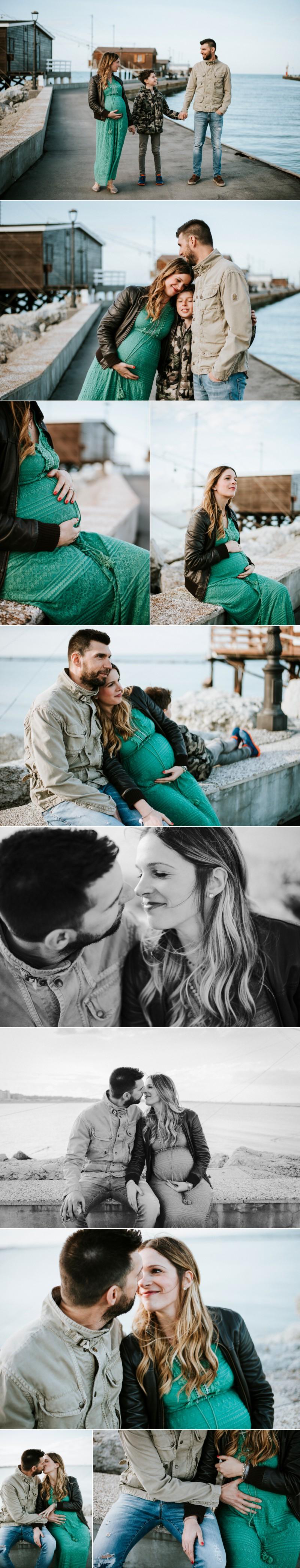 servizio fotografico maternity al mare Cesenatico 30