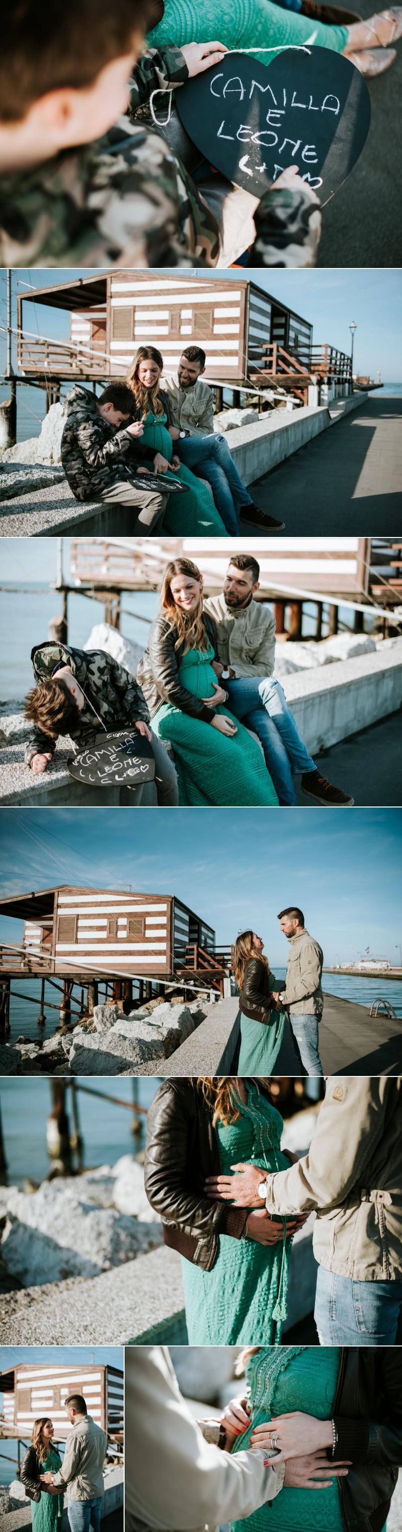 servizio fotografico maternity al mare Cesenatico 40