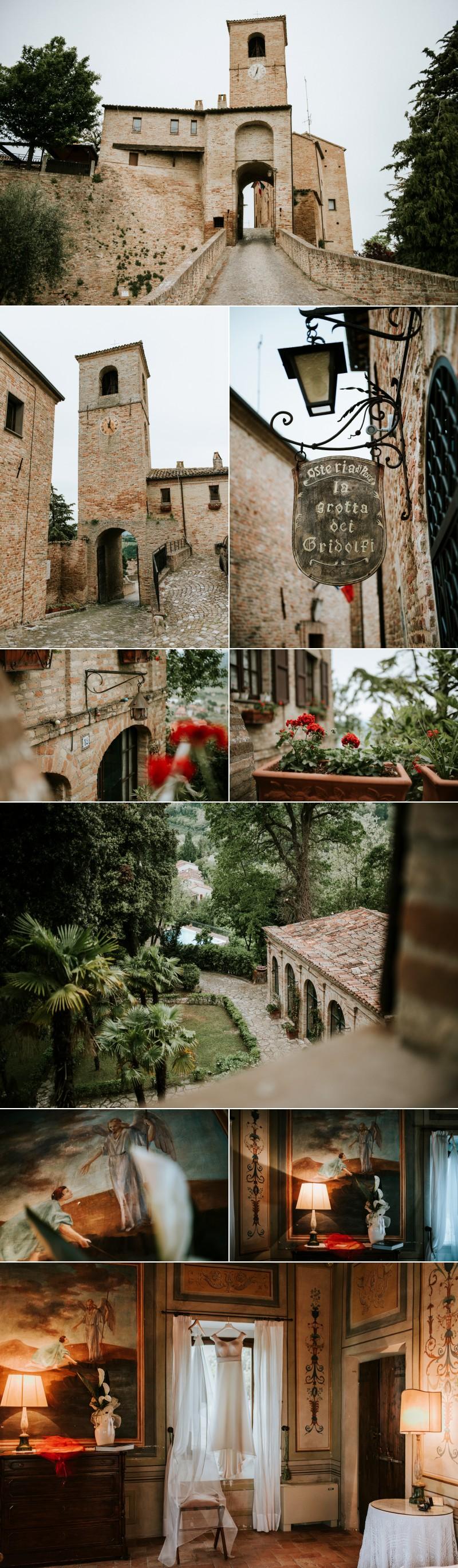 FOtografo Matrimonio Elegante a Palazzo Viviani Montegridolfo Rimini 1