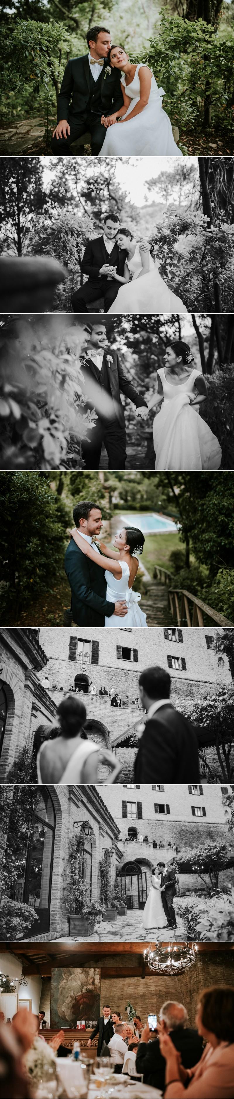 FOtografo Matrimonio Elegante a Palazzo Viviani Montegridolfo Rimini 12