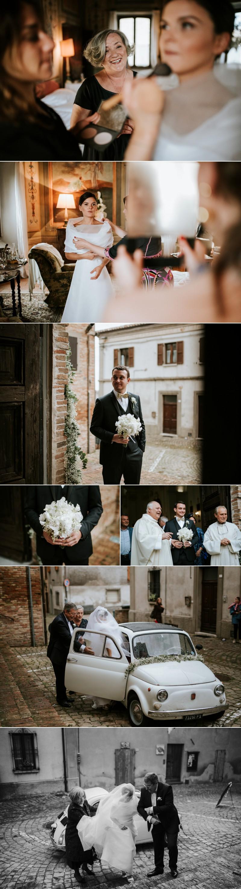 FOtografo Matrimonio Elegante a Palazzo Viviani Montegridolfo Rimini 5
