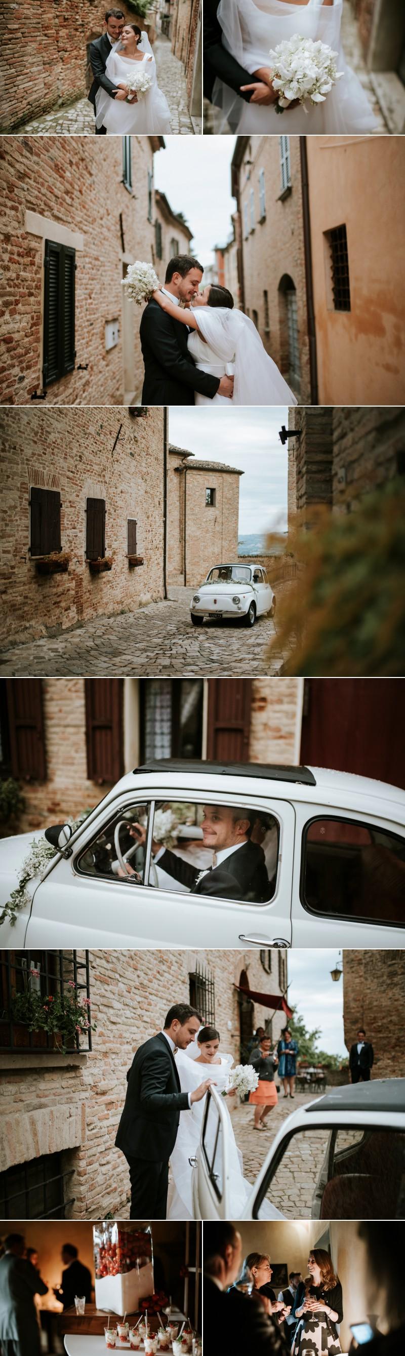 FOtografo Matrimonio Elegante a Palazzo Viviani Montegridolfo Rimini 9