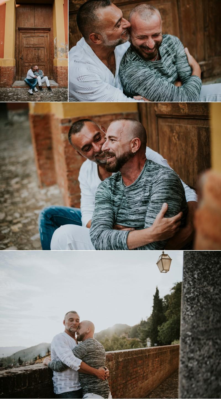 Same sex engagement photographer 500