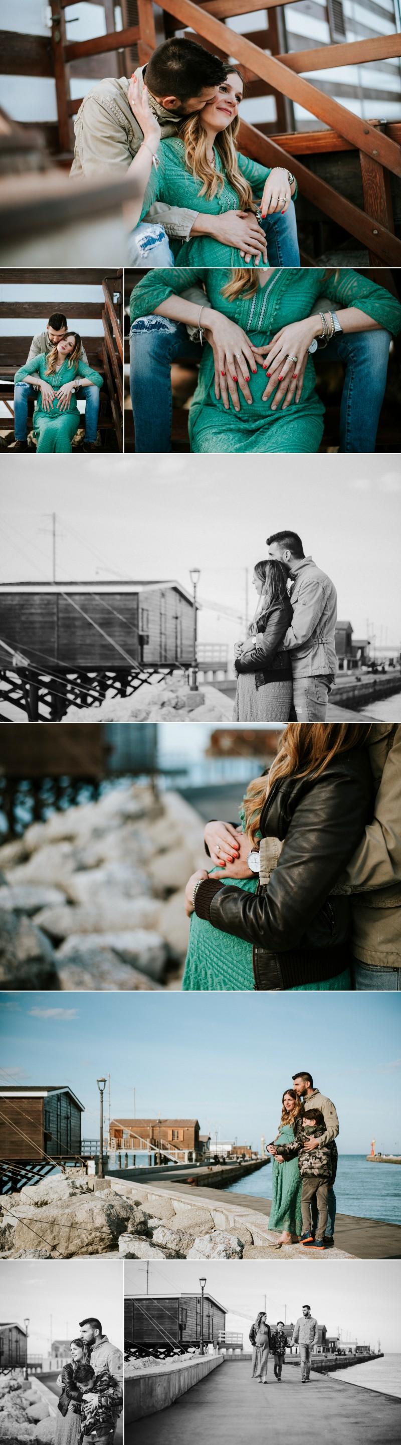 servizio fotografico maternity al mare Cesenatico 20