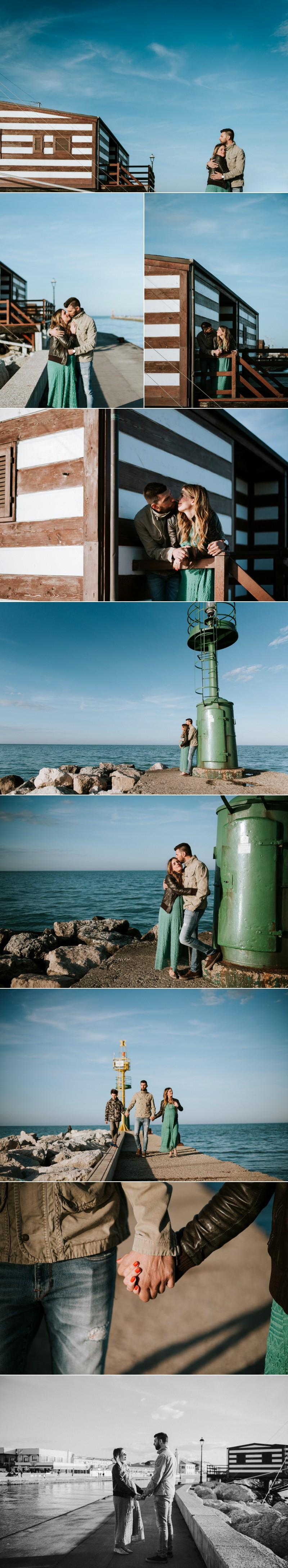 servizio fotografico maternity al mare Cesenatico 50